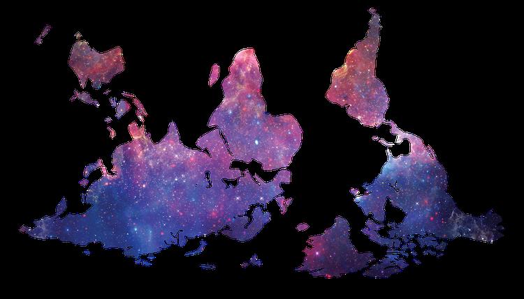 Weltkarten + Multiperspektivität: Die Erde ist keine Scheibe