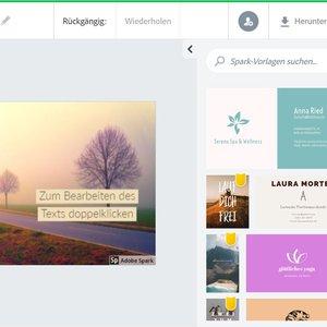 Vorschaubild Adobe Spark