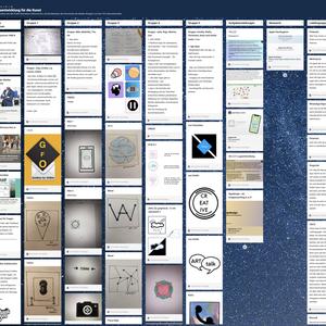 Vorschaubild Auf dem Weg zur Entwicklung einer eigenen Kunst App - Wie hilft uns Design Thinking dabei?