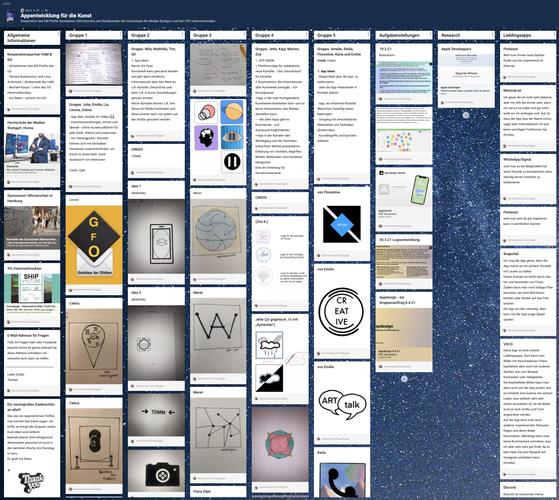 Auf dem Weg zur Entwicklung einer eigenen Kunst App - Wie hilft uns Design Thinking dabei?
