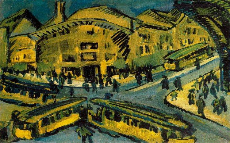 Großstadtlyrik - das (expressionistische) Sonett