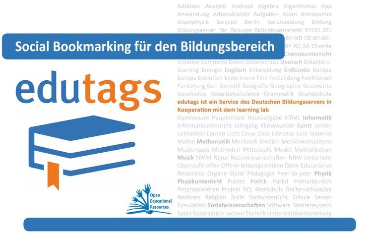 edutags - die Social Bookmarking-Plattform für den Bildungsbereich