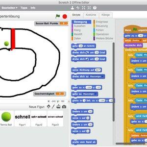 Vorschaubild Einführung in die Programmierung mit Scratch