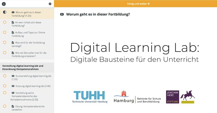 Fortbildung: digital.learning.lab