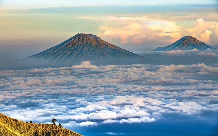 Vulkantypen und Vermessung