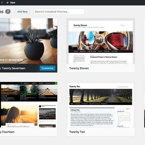 Vorschaubild Wordpress