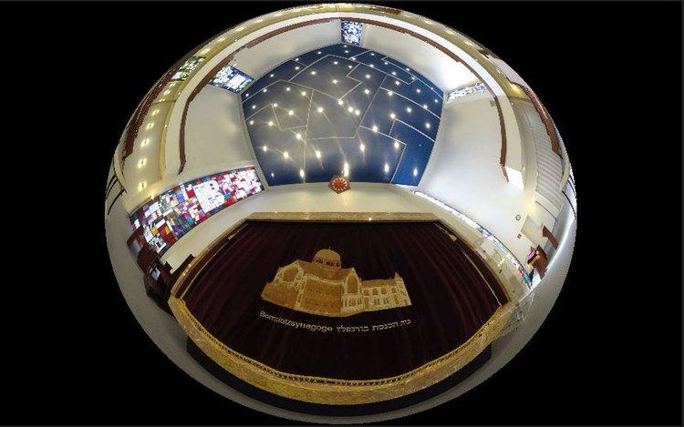 """Hamburger Gotteshäuser in der Virtuellen Realität (VR): Die Synagoge """"Hohe Weiden"""""""