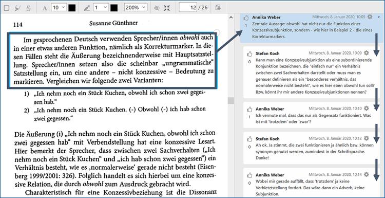 TEXTLABOR (PDF-Annotation) – Moodle-Lernaktivität